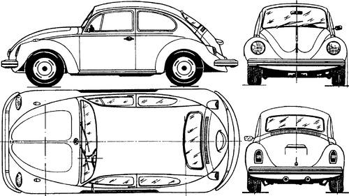 Volkswagen Beetle 1300 (1972)