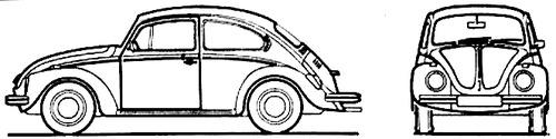 Volkswagen Beetle 1302S (1972)