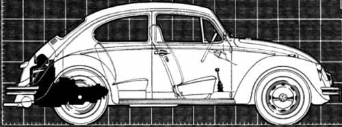 Volkswagen Beetle 1500 Automatic (1968)