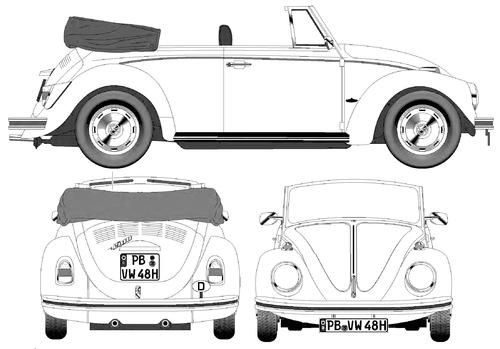 Volkswagen Beetle 1500 Cabriolet (1970)