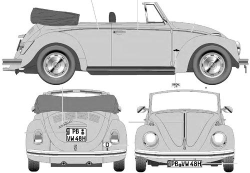 Volkswagen Beetle 1500C Carbrio (1970)