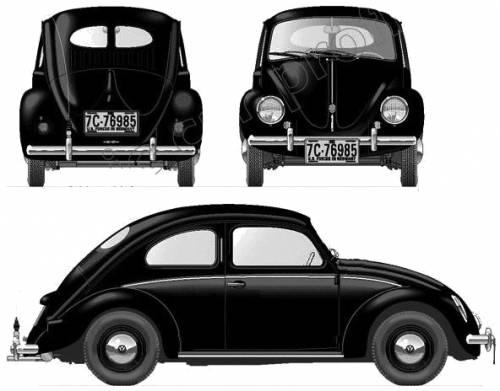 Volkswagen Beetle (1951)