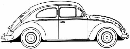 Volkswagen Beetle (1954)