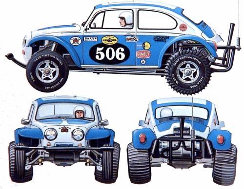 Volkswagen Beetle Baja Bug