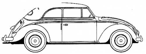 Volkswagen Beetle Cabriolet (1954)