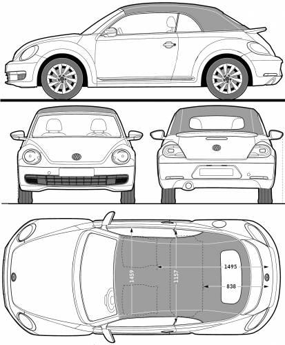 Volkswagen Beetle Cabriolet (2013)
