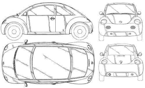 Volkswagen Beetle Concept (1994)