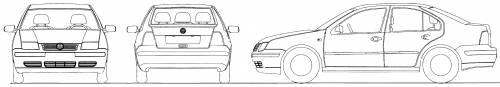 Volkswagen Bora (2001)