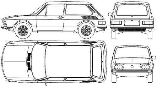 Volkswagen BR Brasilia (1976)