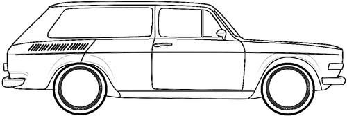 Volkswagen BR Brasilia Variant (1973)
