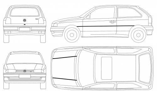 Volkswagen BR Gol GTi (1996)