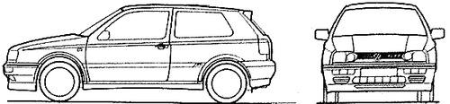 Volkswagen Golf III GTi 3-Door (1995)