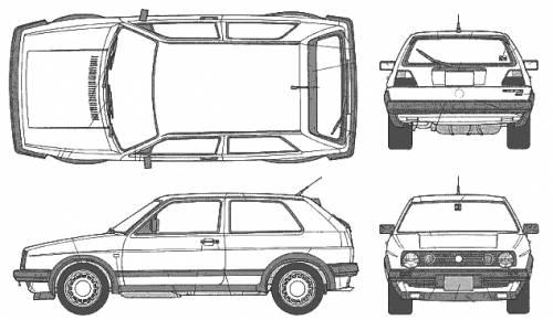 Volkswagen Golf Mk. 2 (3-door)