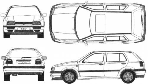 Volkswagen Golf Mk. 3 5-Door GL