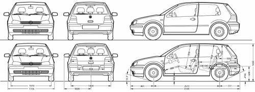Volkswagen Drawing as well One Way Easy Install Car Alarm 613879013 further After Photos Surfaced Of Lindsay Lohan also Vw Sharan likewise Volkswagen golf 3 Door  1995. on vw golf mk2 dimensions