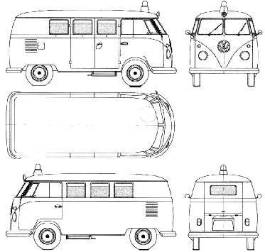 Volkswagen Microbus (1960)