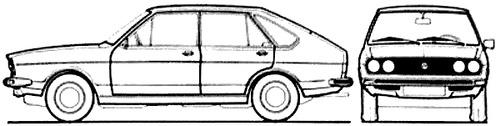 Volkswagen Passat 5-Door TS (1974)