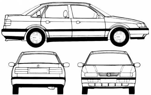 Volkswagen Passat CL (1995)