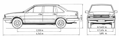 Volkswagen Passat Santana