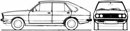Volkswagen Passat TS 5-Door (1974)