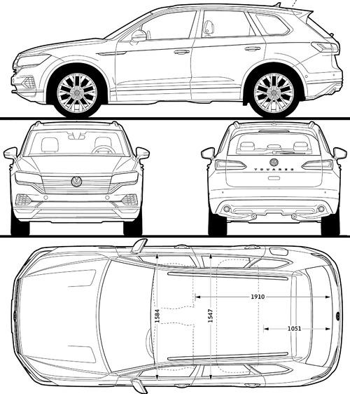 Volkswagen Touareg (2018)