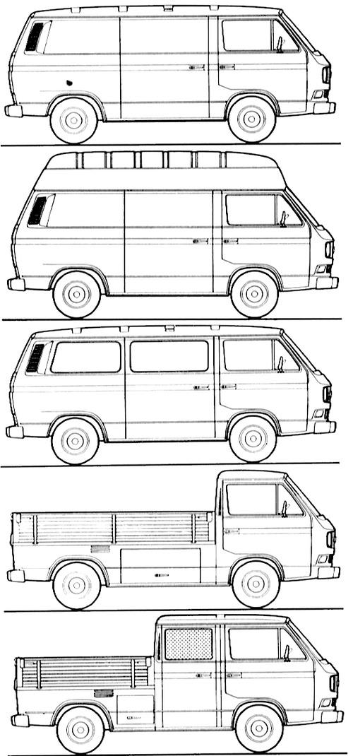 Volkswagen Transporter (1986)