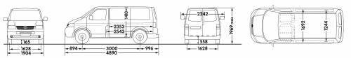 Volkswagen Transporter Panel Van SWB Low Roof