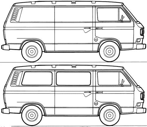Volkswagen Transporter T3 (1979)