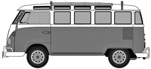Volkswagen Type 2 Micro Bus (1963)