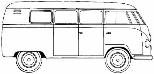 Volkswagen Type 2 Microbus (1954)