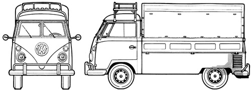 Volkswagen Type 2 Pick-up (1962)