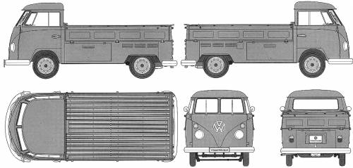 Volkswagen Type 2 Pick Up Truck (1967)