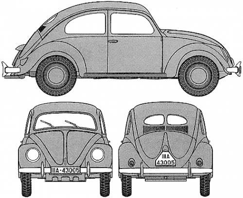 Volkswagen Type 82E kdf.wagen (1944)