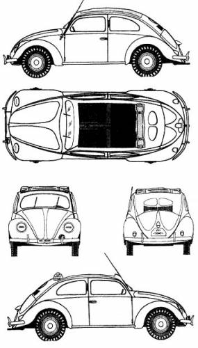 Volkswagen Type 87 kdf-Wagen (1941)