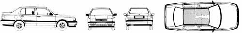 Volkswagen Vento (1995)