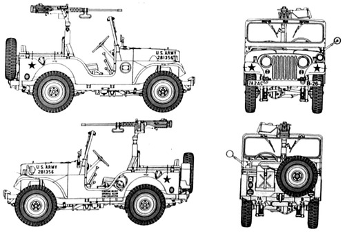 Willlys Jeep M38A1