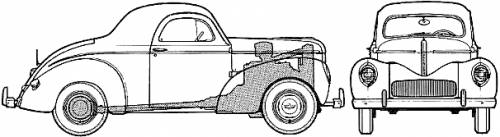 Willys 441 Americar Coupe (1941)