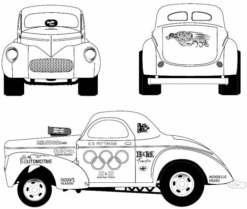 Willys Americar Coupe (1941)