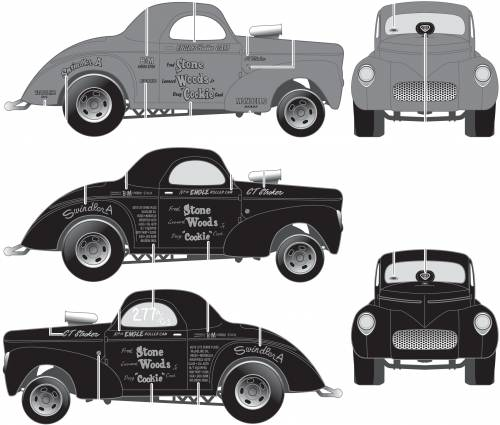 Willys Gasser Stone, Woods and Cook (1941)