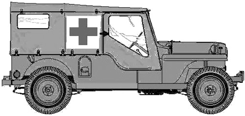 Willys Jeep CJ-4MA