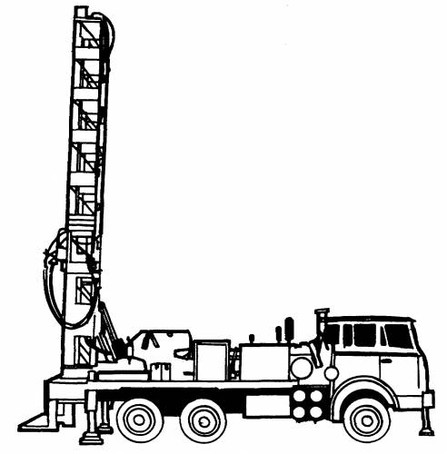 Astra-BM-20-MP-1 Mobile Drilling Equipment