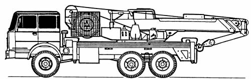 Astra BM-20-NR-2.20-Ton Crane Truck