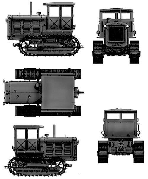 ChTZ S-65 Cab