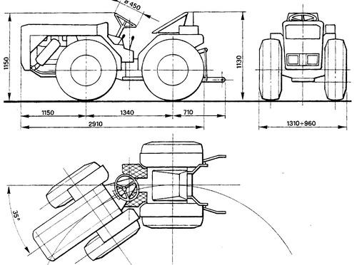 Ferrari Tractor 85