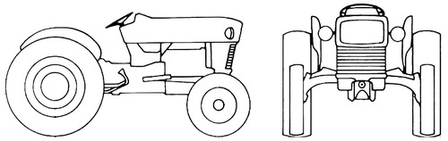 Ford 3400 Stage-1 Tractor