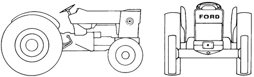 Ford 3500 Stage-2 Tractor