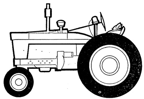 International A514 Farmall (1964)