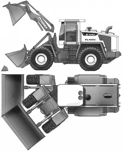 Kaelble-Terex TL420 (2006)