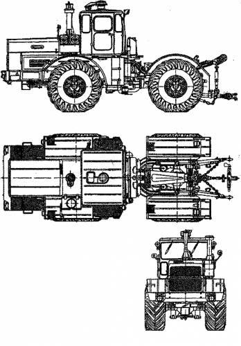 Kirovetz Tractor