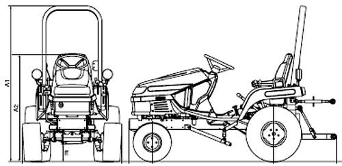 Massey Ferguson GC2300 (2009)
